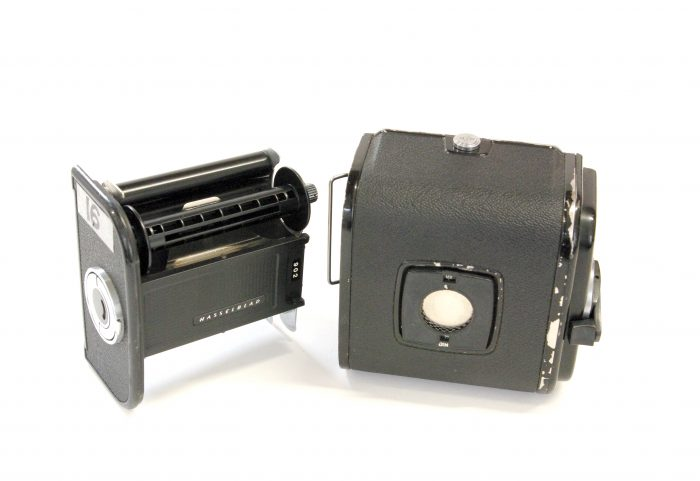 Pre-owned hasselblad a16 film magazine black