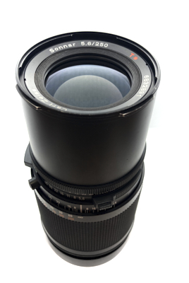 Pre-owned hasselblad sonnar cf 250mm f5.6 t*