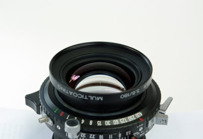 Pre-owned schneider-kreuznach apo-symmar 180mm f5.6