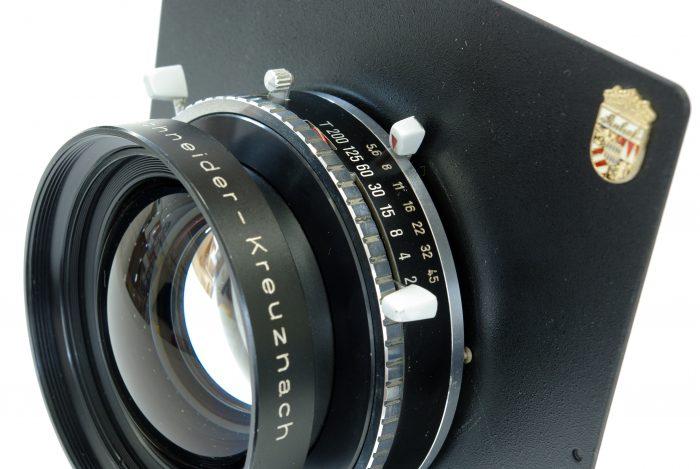 Pre-owned schneider-kreuznach symmar-s 240mm f5.6 linhof select