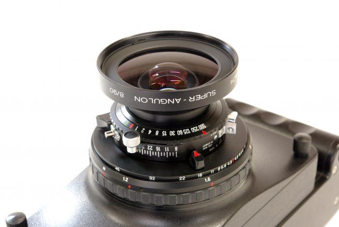 Fotoman 617 Schneider Super Angulon 90mm F8.0 6
