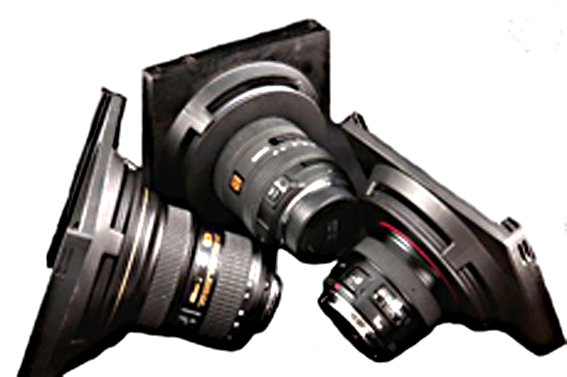 Hitech lucroit holders on various lenses