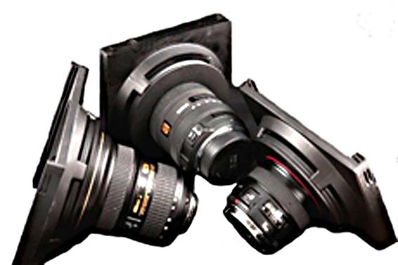 Hitech lucroit holders on various lenses2