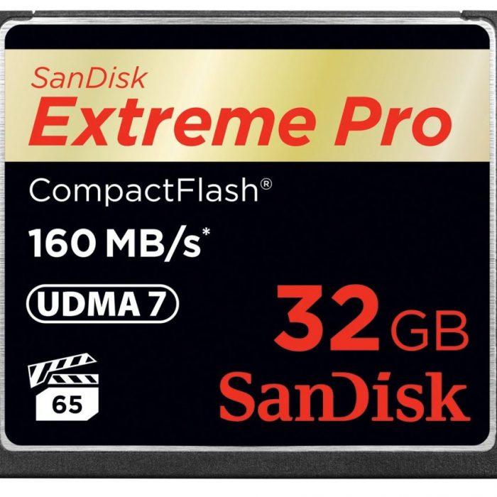 Sandiskcfextremepro160mbcard 32gb
