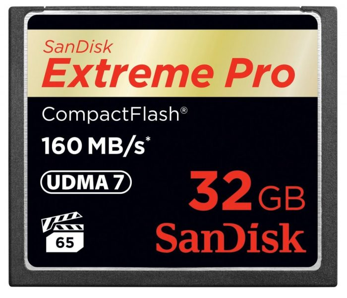 Sandiskcfextremepro160mbcard 32gb1