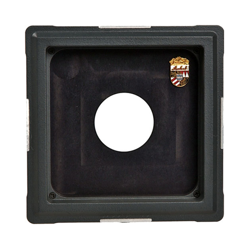 Linhof double recessed lensboard size 1 rollei shutter for Recessed panel shutters