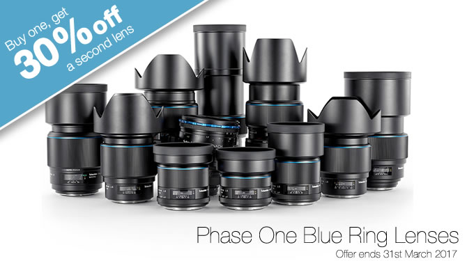 Buy One Phase One Blue Ring Lens, Get 30% Off Another