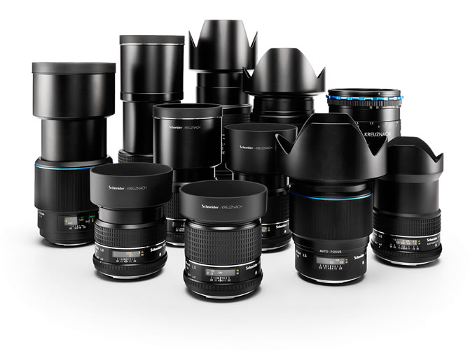 Phase One XF Camera System Lenses
