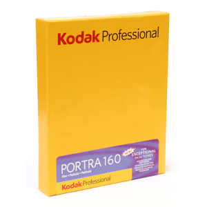 Kodak portra 160 4x5sheet film 101